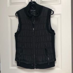 Calvin Klein performance black vest XL